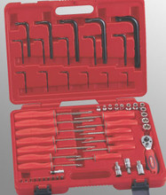 Genius Tools Complete Star Type Wrench 56 Pc Set TX-2356