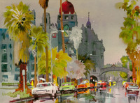 SPECIAL - Rainy Day at the Mission Inn - Medium
