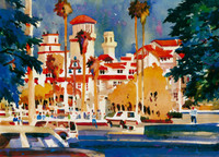 SPECIAL - Red Roofs of the Mission Inn - Medium