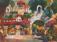Front Entrance to the Mission Inn