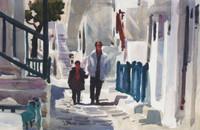 Morning Walkers, Greece