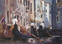 Canal Tie-up, Venice