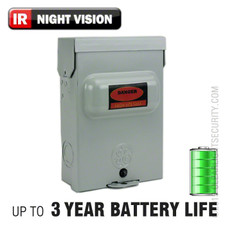 Electrical Box Hidden Camera with Up to 3 Year Battery Life