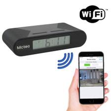 Night Vision WiFi Clock Hidden Camera