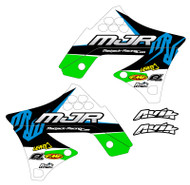 Kawasaki MJR Series Semi Custom Shroud Decals