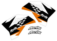 KTM MJR Series Non Custom Shroud Decals.