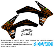 KTM VK Rise Semi Custom Shroud Decals