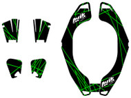 VK Rise Series Non Custom Atlas Brace Decal Kit