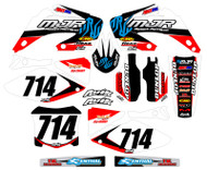 Honda MJR Series Custom Graphics
