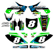 Kawasaki MJR Series Custom Graphic Kit