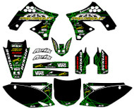 Kawasaki VK Rise Series Custom Graphic Kit