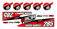 IMS Dump Can Decal- MJR Series