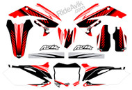 Honda Kudla ISDE13 Series RB Non Custom Graphic Kit