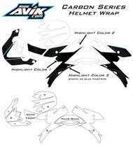 Carbon Series Helmet Wrap