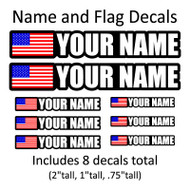 Customize with your name/number bulk quantities are available, call or email for pricing.
