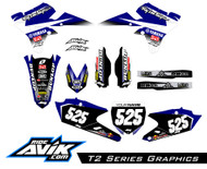 Customize with your choice of sponsors and background details as well as custom highlight color options