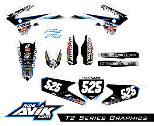 Customize with your choice of sponsor logos, custom colors, and background details.