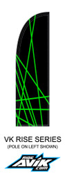Customize the colors, the background shown is black, and the highlight is Kawi Green