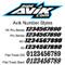 Avik pre printed background number styles