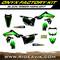 Onyx Kawasaki Factory Semi Custom Graphic Kit