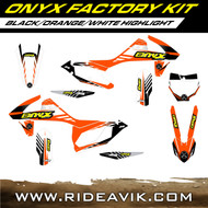 KTM Onyx Factory Series Semi Custom Graphic Kit