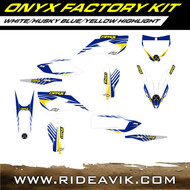 Husqvarna Onyx Factory Series Custom Graphic Kit