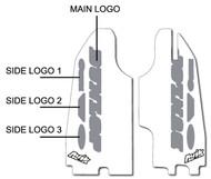 Semi Custom Lower Fork Decals