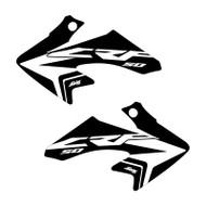 CRF50 oem style Black Shroud graphics