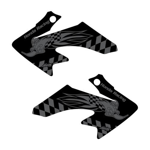 CRF50 Woody Black Shroud Graphics