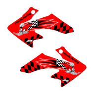 Honda CRF50 Woody Shroud Graphics