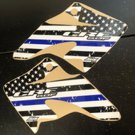 Honda CRF50 Thin Blue Line Graphics