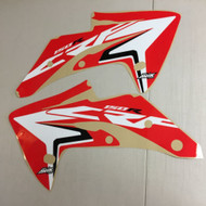 Honda CRF150R 2007-2017 Oem Replica Shroud Red Highlight