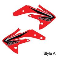 Honda OEM replica shroud Style A Red