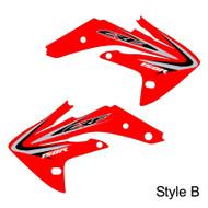 Honda CRF150R oem replica style B red