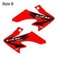 CRF50 oem replica shroud style B red