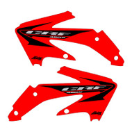 CRF450x oem wing replica shroud graphics red