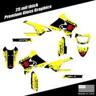 Suzuki DRZ400 splatter complete graphic kit