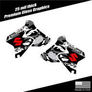 Suzuki DRZ400 Camo Shroud Graphics