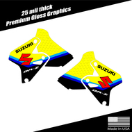 Suzuki DRZ400 Shroud Graphics Stripe Yellow