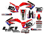 Honda LZ1 Carbon Series Custom Complete Graphic Kit