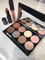 """So Pretty in Holiday Velvet""  Eye Shadow Palette - 8 Shades + Luscious Lipstick & Gloss"