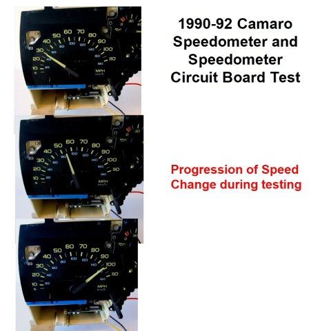 1990-92 Camaro Speedometer testing Part # 446604124