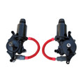 GM 1987-92 Pontiac Firebird Headlight Motor Actuator set.