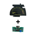 1990-92 Chevy Camaro V6 Tachometer and Circuit Board