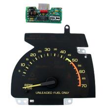 1990-92 Chevy Camaro V8 Tachometer and GM Circuit Board (Part No 446604125)