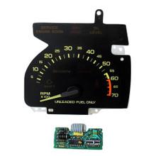 1990-92 Chevy Camaro Tachometer and GM V8 Circuit Board (Part No 446604141)