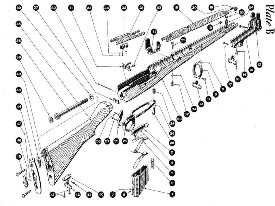 Smle No 1 Mk 3 Stock Amp Magazine Parts