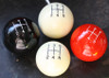 Engraved Shift Pattern Shift Knob - 3 speed, 4 speed, 5 speed, 6 speed Patterns  (allow 3-4 weeks)