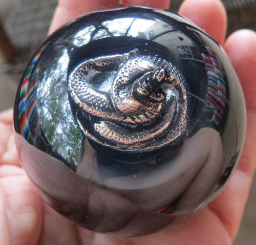 Pewter Coiled 3D Snake Shift Knob