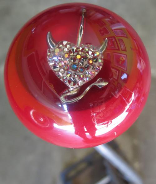 Red Pearl Fairy Girl Mystical Shift Knob Houseospeed